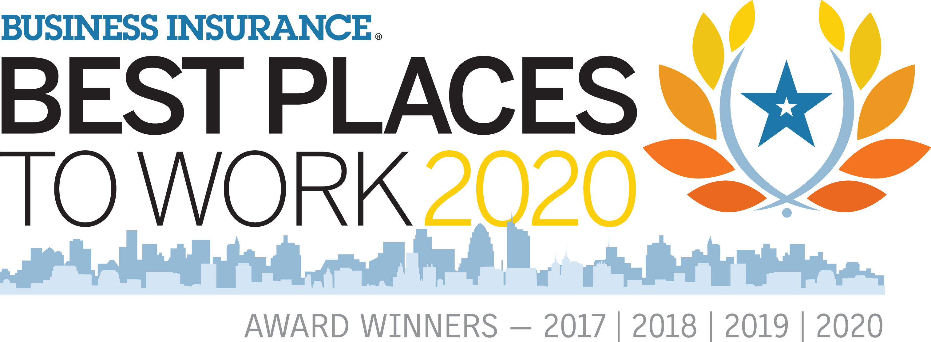 Best Insurance, Best Place to work 2020 award image