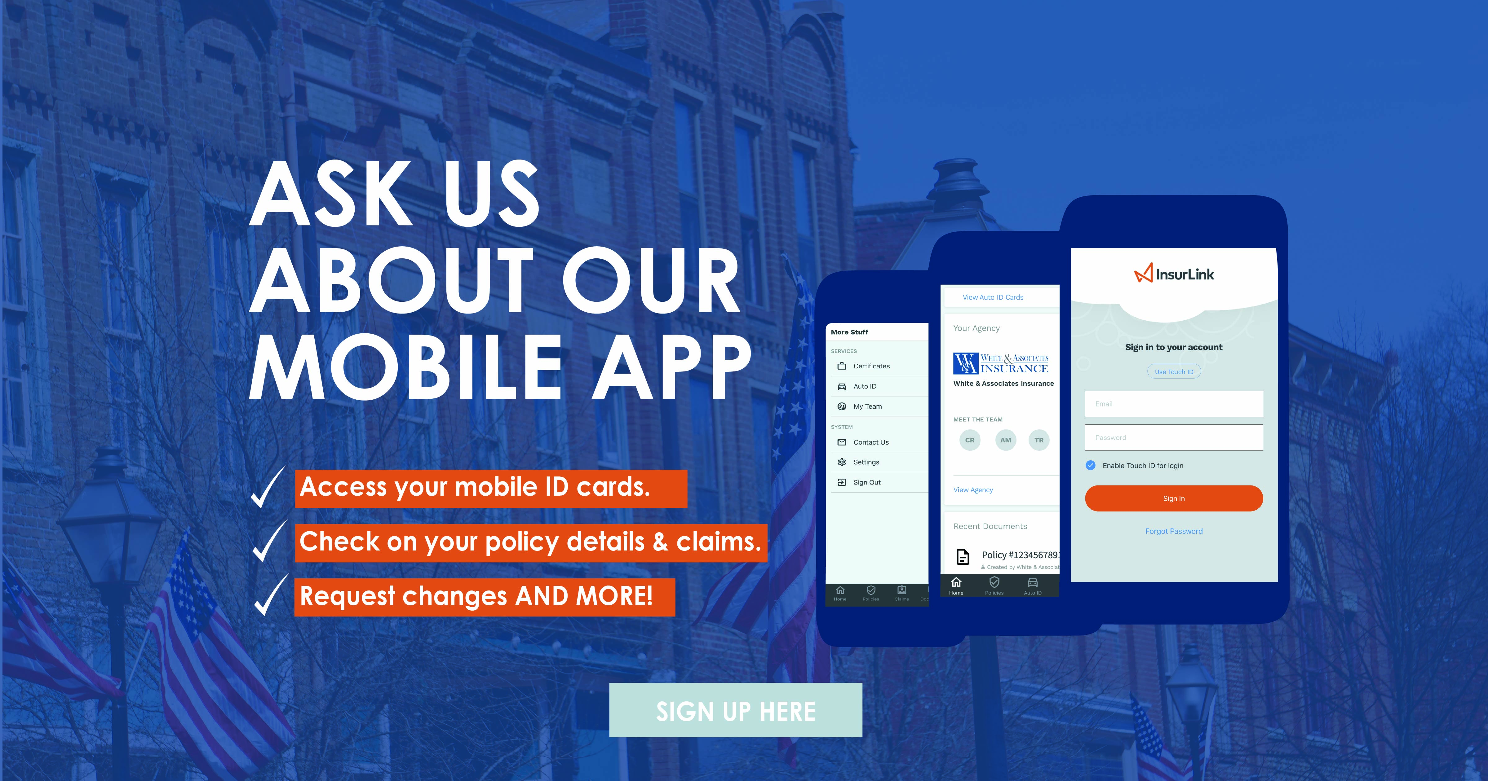 Ask us about our mobile app image